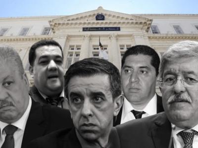 Algérie - verdict du procés de Ouyahia Sellal et d'autres ex-ministres