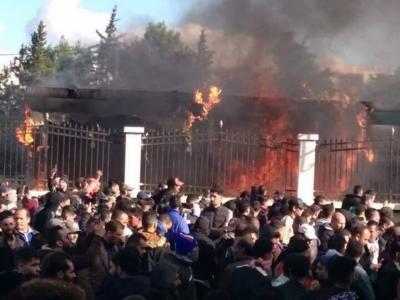 Algérie : Le siège de l'ANIE incendié en Kabylie (élections)