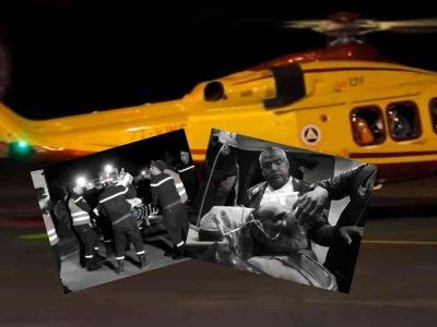Algérie : malade hélicoptere