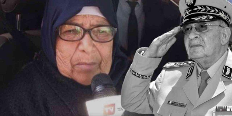 Algérie : Soeur Gaid Salah