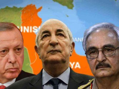 Algérie : Libye Haftar Tebboune Erdogan