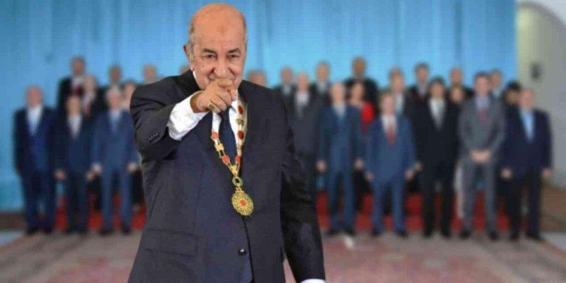 Algérie : Nouveau Gouvernement Abdelmadjid Tebboune