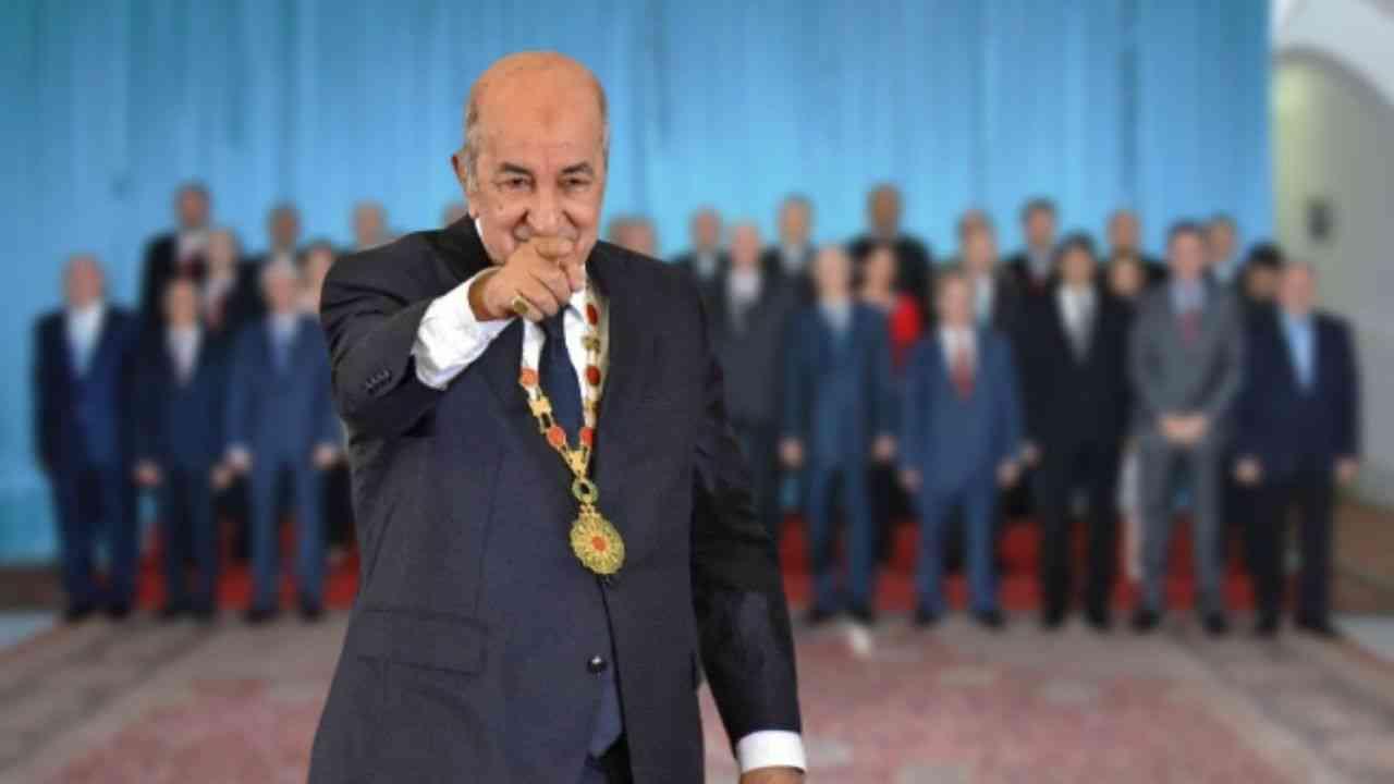 Algerie Voici La Composition Du Nouveau Gouvernement De Tebboune