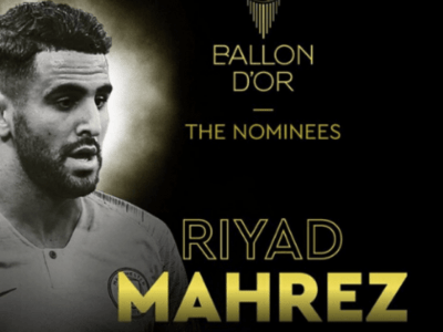 Riyad Mahrez dans le top 10 du Ballon d'Or 2019