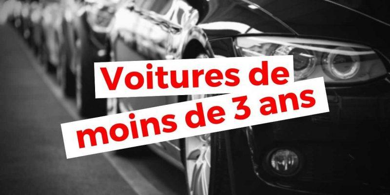 Algérie : Voitures et véhicules d'occasion (moins de 3 ans)