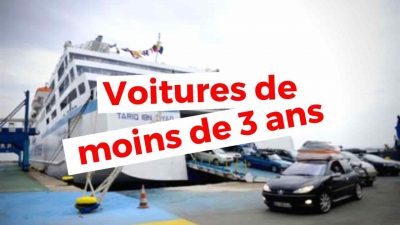 Algérie prix voiture occasion importation