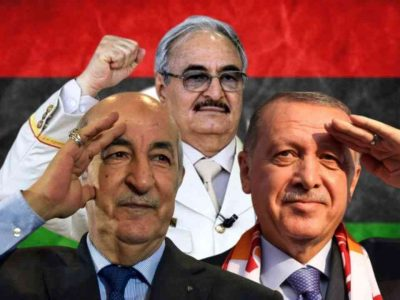 Algérie : Libye Turquie