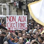 Algérie : Manifestations contre les élections présidentielles