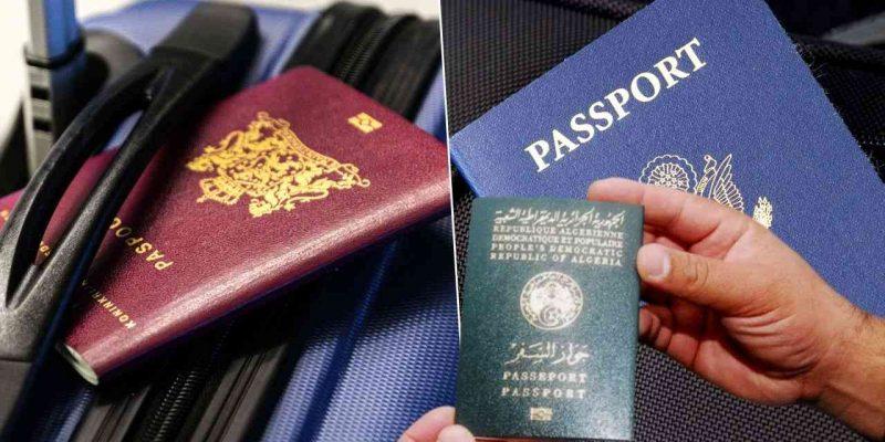 Algérie : Classement passeport algérien