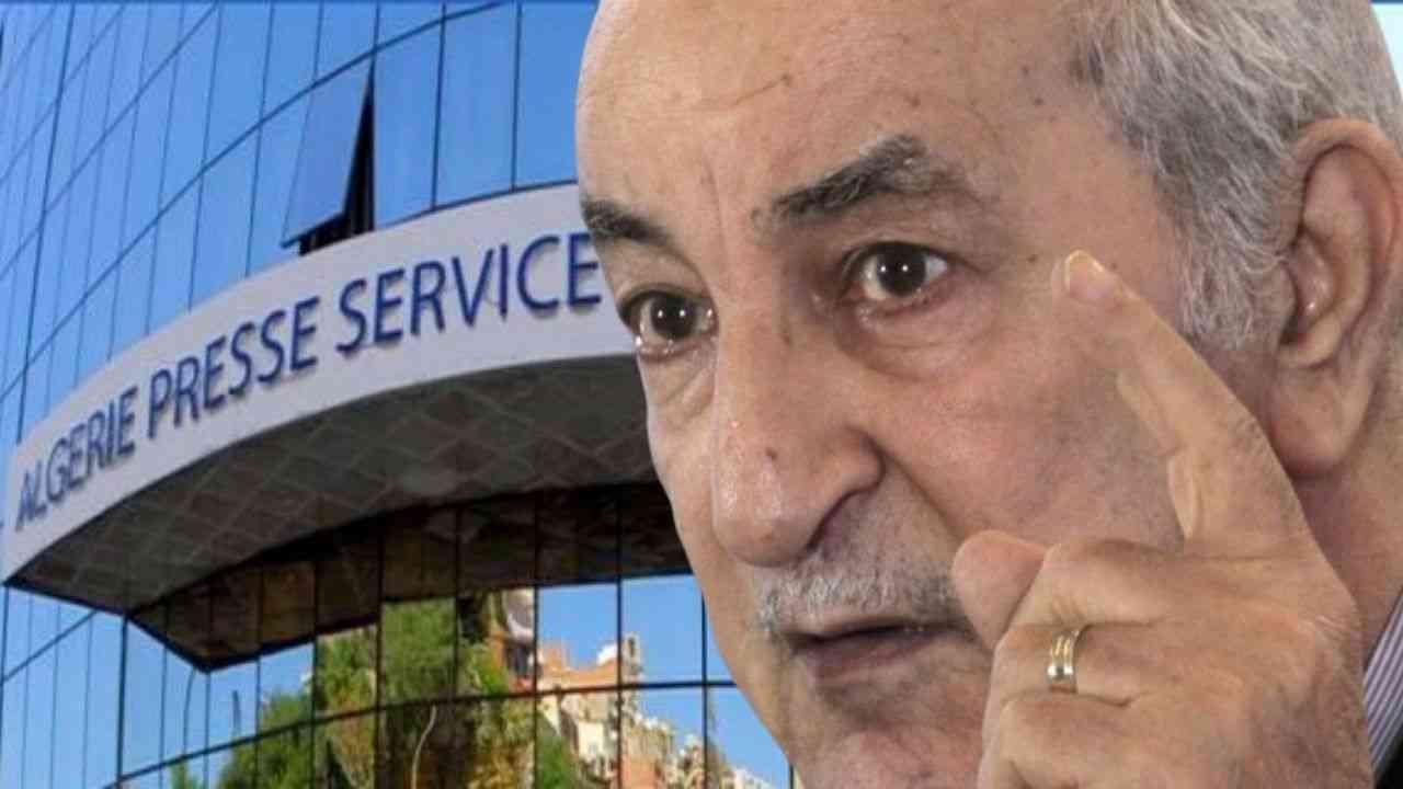 Algérie : La Présidence accorde l'exclusivité de l'information à l'APS