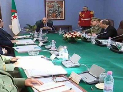 Algérie : Tebboune Haut conseil de sécurité