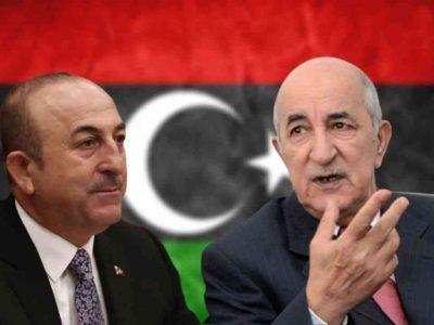 Algérie : Turquie Libye