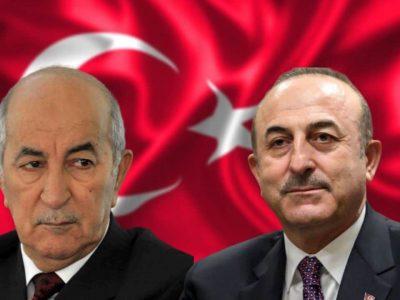 Algérie Turquie : Tebboune Cavusoglu