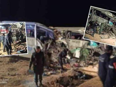 Algérie : accident el oued