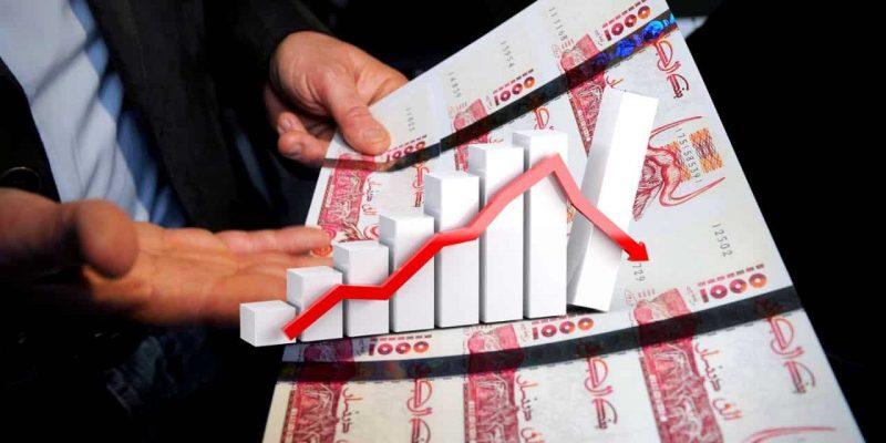 Algérie : déficit budget 2020 dinar algérien