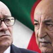 Algérie France Libye - Tebboune Le Drian