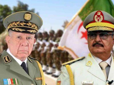 Algérie Libye : Haftar Chanegriha