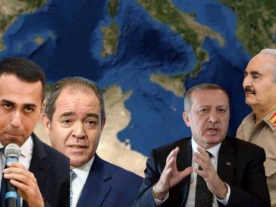 Algérie Italie Libye Turquie