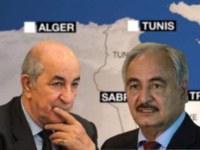 Algérie Libye Tebboune Haftar