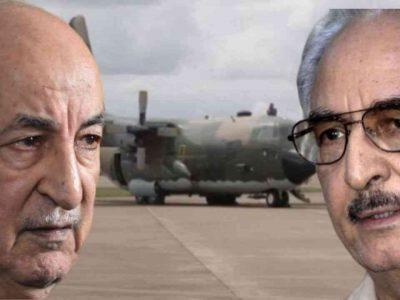 Algérie : Libye Avion Aide Humanitaire