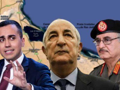Algérie Libye Italie : Tebboune Di Maio