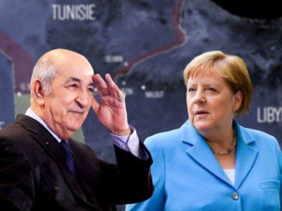 Algérie Libye : Merkel Tebboune