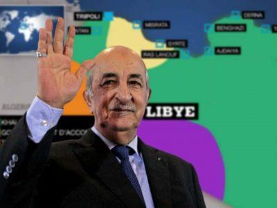 Algérie : Tebboune Libye