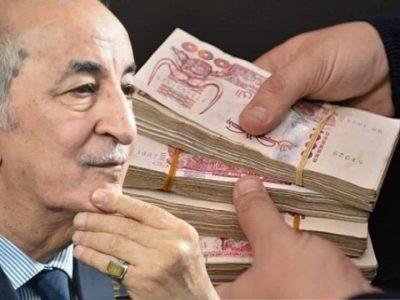 Algérie : Tebboune impot revenu IRG