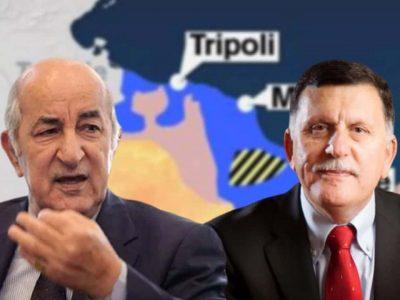 Algérie/Libye : Tebboune Fayez El Serraj