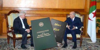 Algérie : Tebboune constitution 2020