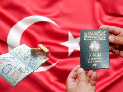 Algérie Turquie visa