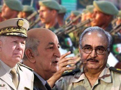 Algérie : Armée Haftar Libye
