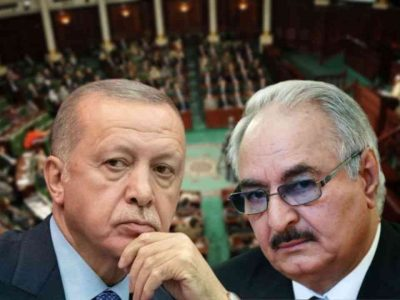 Erdogan Haftar : Libye Turquie