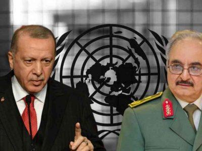 ONU : Turquie Libye Erdogan Haftar