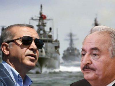 Libye Turquie : Armee Erdogan Haftar