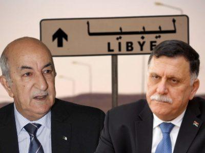 Algérie - Libye : Fayez El Serraj Abdelmadjid Tebboune