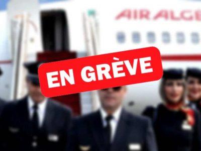 Air Algérie gréve personnel