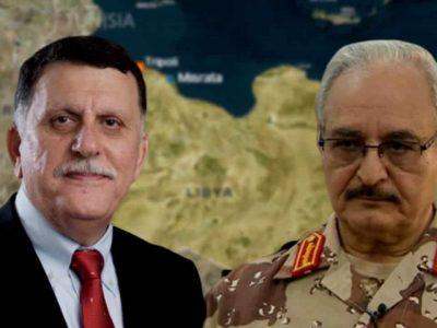 Libye Russie : Haftar Sarraj