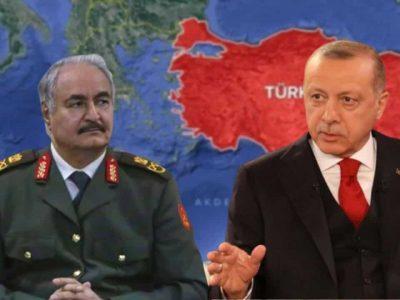 Algérie : Haftar Erdogan