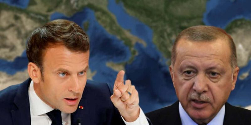 Macron Erdogan Libye