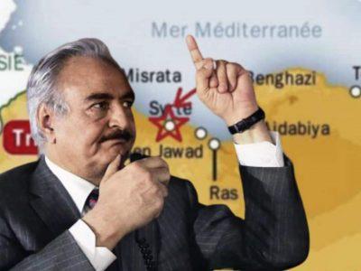 Libye : Syrte Haftar
