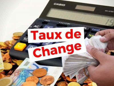 taux de change marche noir dinar euro