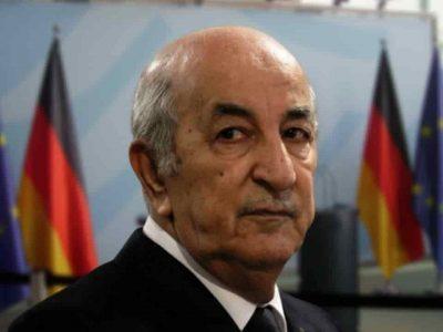 Algérie : Tebboune conférence berlin libye