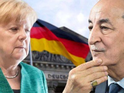 Algérie : Tebboune Merkel Berlin