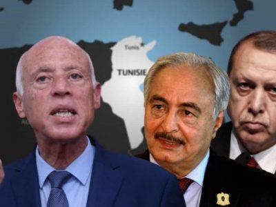 Tunisie Libye : Kais Saied Erdogan Haftar