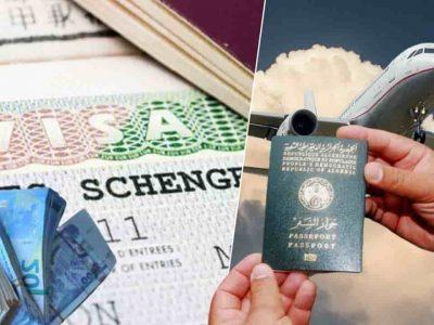 Algérie visa schengen 2020