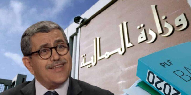 Algérie Loi de finances complémentaire 2020