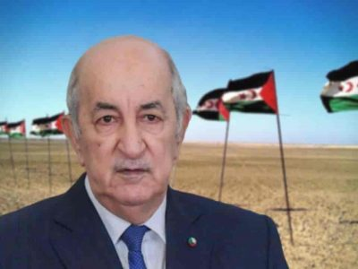 Algérie Tebboune Sahara occidental