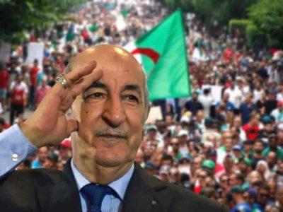 Algérie Tebboune Hirak 22 février