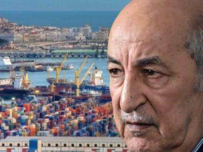 Algérie Tebboune surfacturation importation
